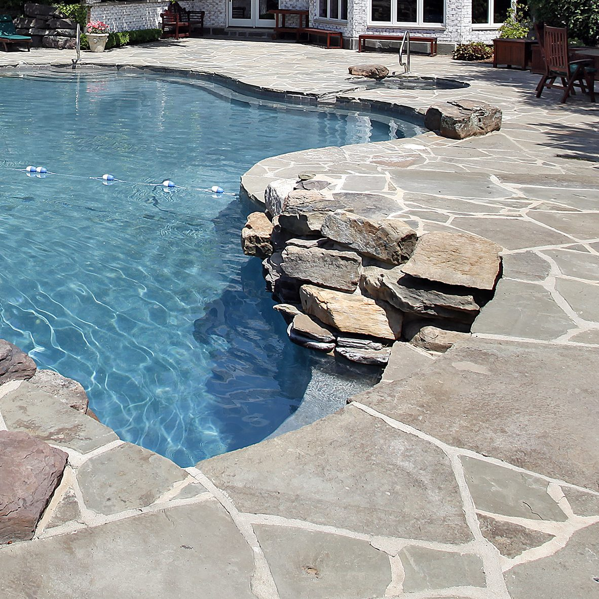 Concrete Overlay Pool Deck