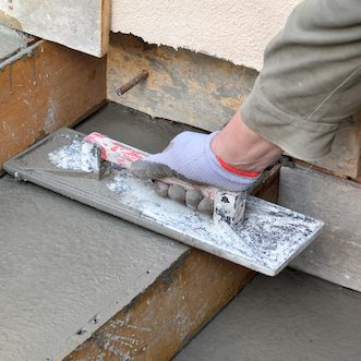 Concrete Stair Installation